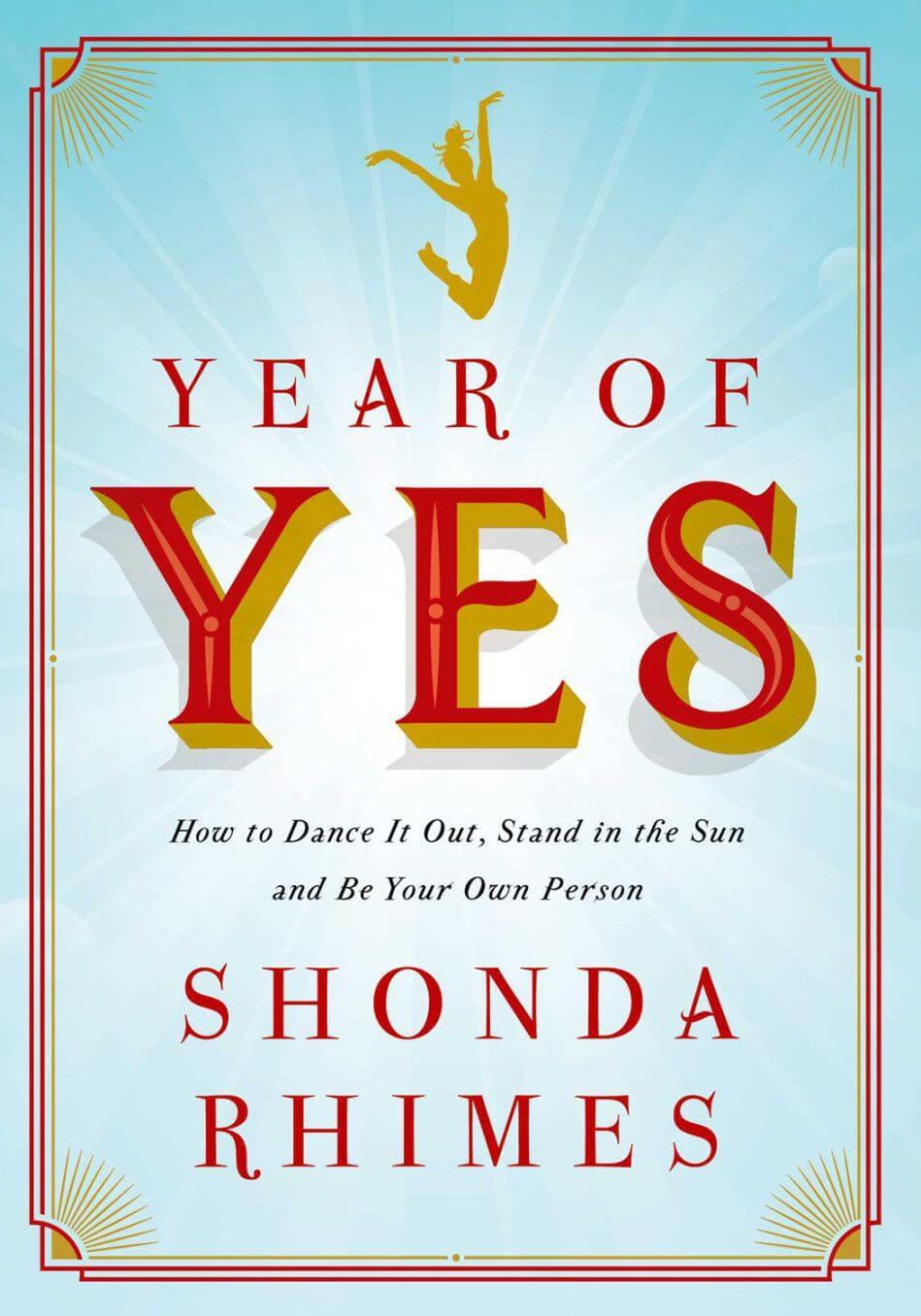 Year of Yes by Shonda Rhimes
