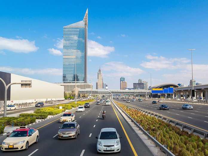 Long Car Ride in the UAE