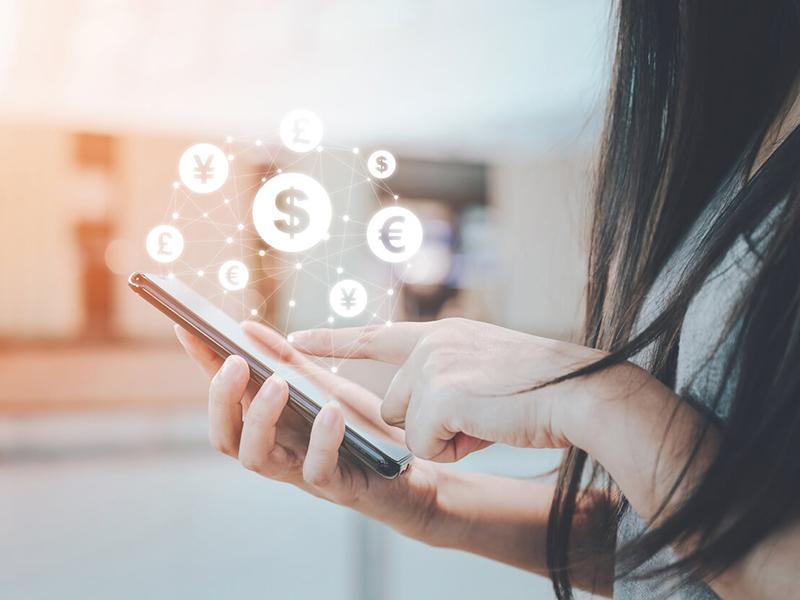 transferring money online