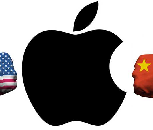 Apple between US China Wars