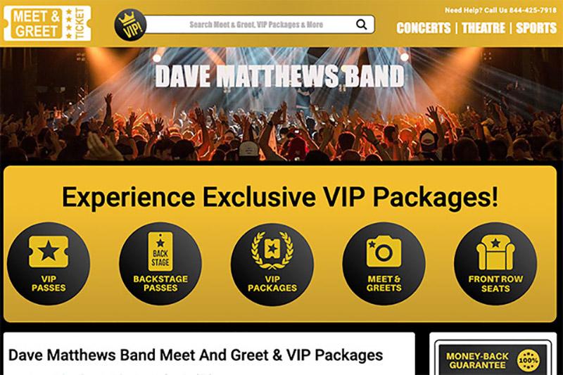 Dave Matthews Band Meet and Greet