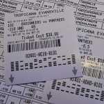 sports betting ticket