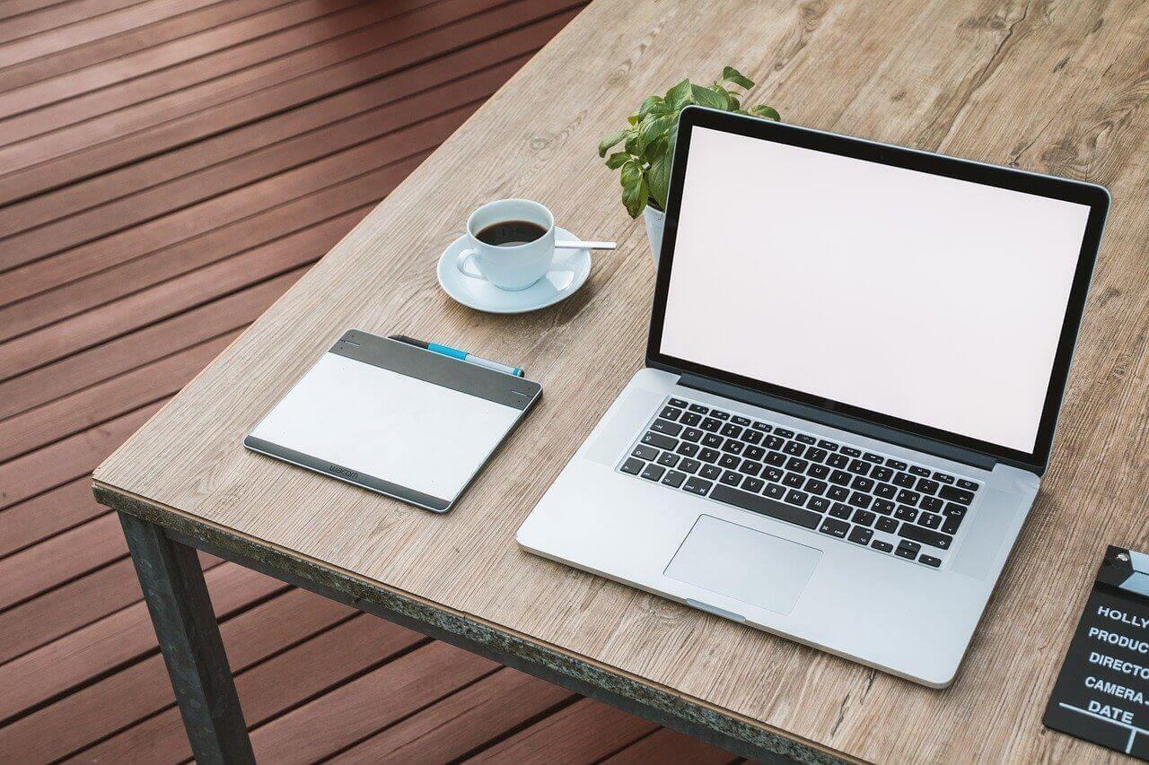 Laptop and Pentab
