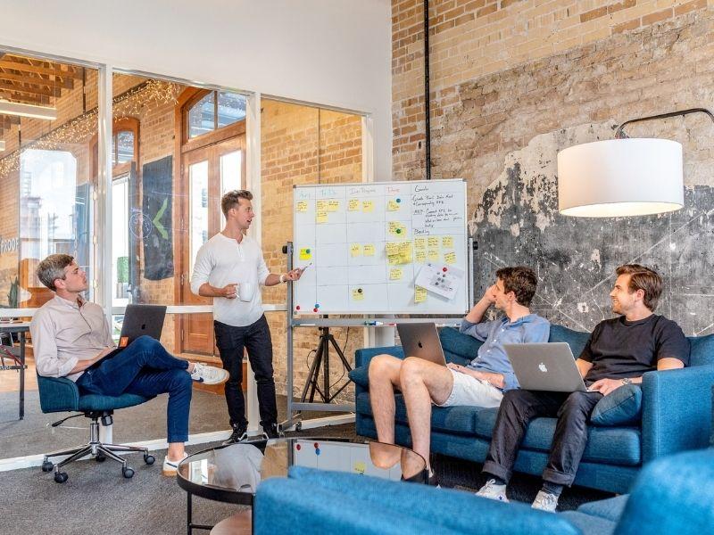 Start up team meeting