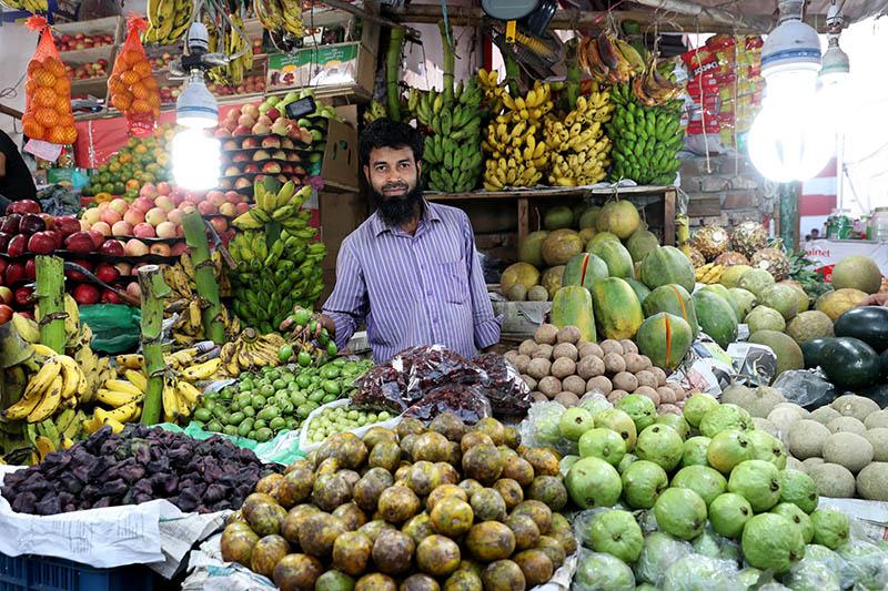 Fruit vendor (SME) in Bangladesh