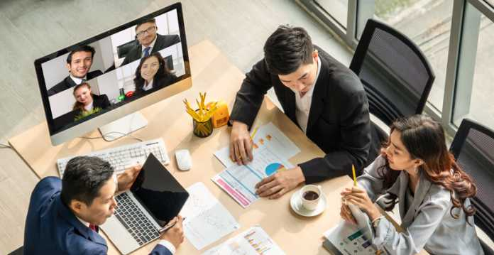 Video Conference and Hybrid Work